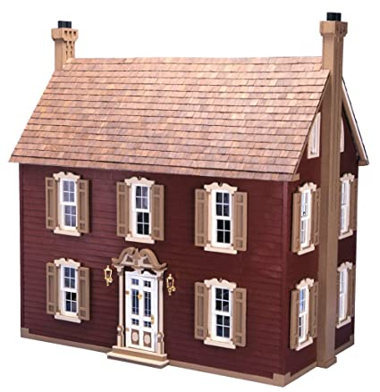 Amazon Com Willow Dollhouse Kit By Greenleaf Dollhouses Toys Games