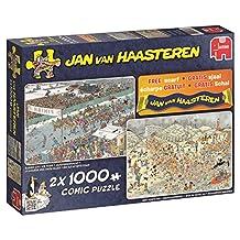 """Jan van Haasteren """"Winter Fun"""" Jigsaw Puzzle (2000-Piece)"""
