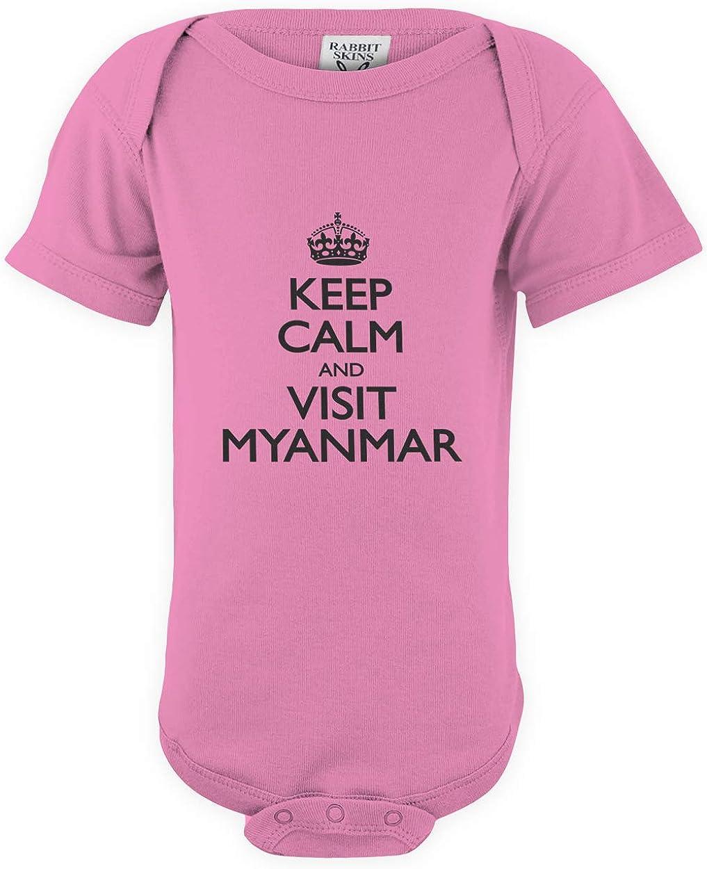 B07QJV1SYT shirtloco Baby Keep Calm and Visit Myanmar Infant Bodysuit 61QYDC2RuOL