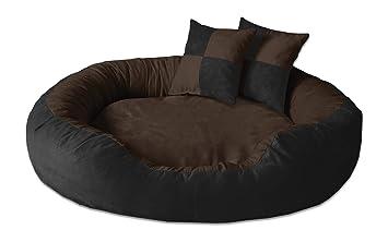BedDog PRINS Negro/Marron XL Aprox. 95x80cm colchón para Perro, 12 Colores, Cama para Perro, sofá para Perro, Cesta para Perro: Amazon.es: Productos para ...
