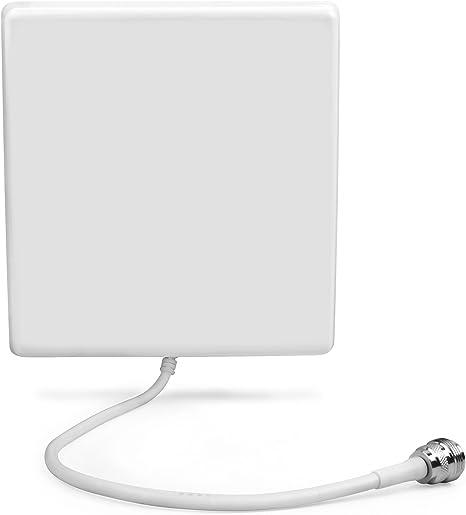ORPEY Antena Interior 6-8dBi Alta Ganancia 4G LTE 3G 698-2700MHz Amplificador de Antena gsm Receptor de Adaptador de Red Antena con Cable a Conector N ...