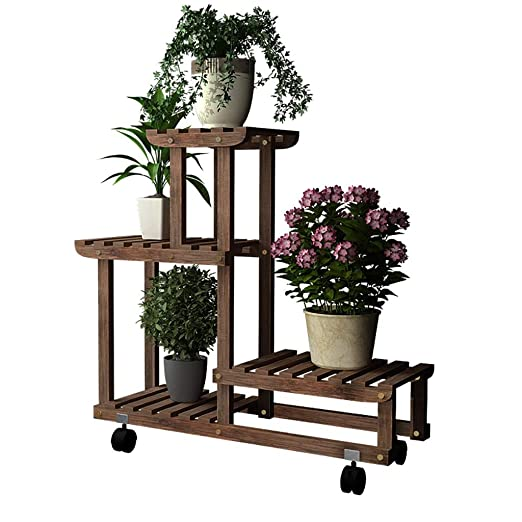 Gj Hj Blumentreppe Pflanzenregaleregal Hölzerne Stehende Regal