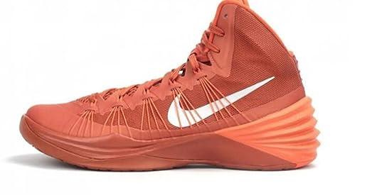 Women's Nike Hyperdunk 2013 TB Basketball Shoes. Size 11.5. DESERT  ORANGE/METALLIC SILVER