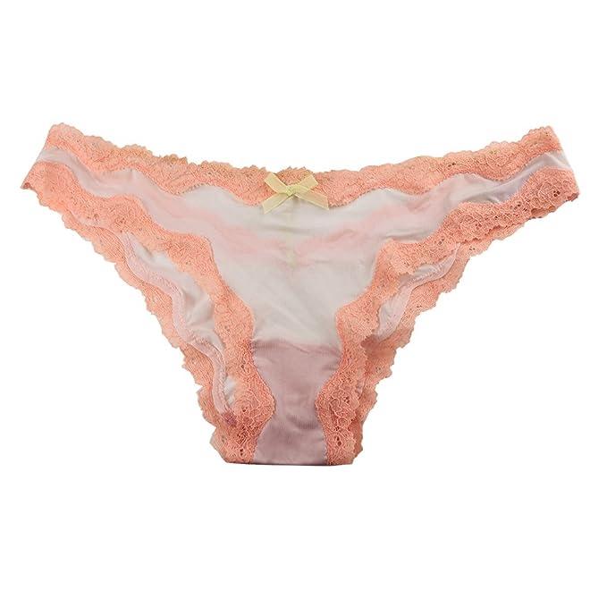 e527d224b46e Victoria's Secret Dream Angels T-Back Cheekini Panty - XS - White & Orange (