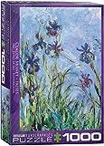 1000 piece puzzle monet - Eurographics Irises by Claude Monet 1000-Piece Puzzle