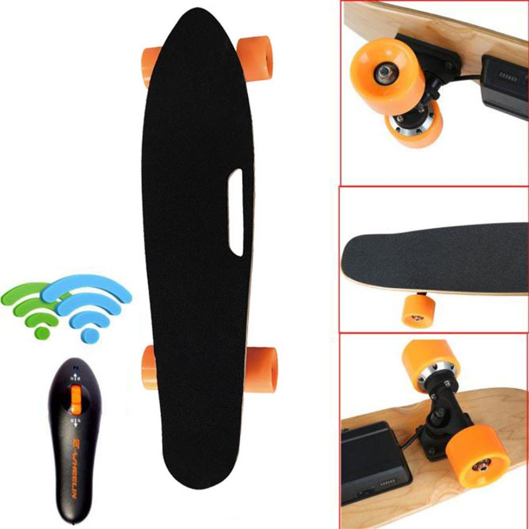 Amazon.com  DEESEE(TM) Wireless Remote Control Four Wheels Electric Skateboard Longboard Skate Board  Sports u0026 Outdoors  sc 1 st  Amazon.com : skateboard costume  - Germanpascual.Com