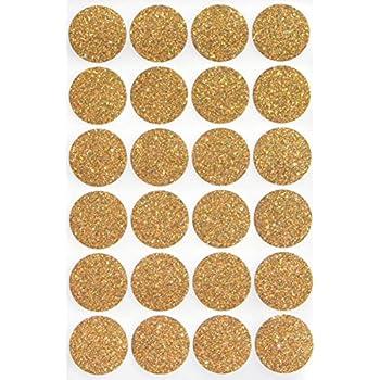 Gold invitation Seal Dots 1