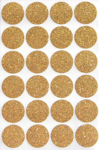 Gold Invitation Seal Dots 1