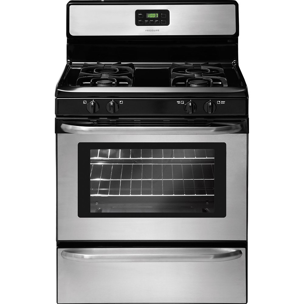 Com Frigidaire Ffgf3047ls 30 Wide Freestanding Gas Range With Sealed Burners In Stainless Steel Appliances