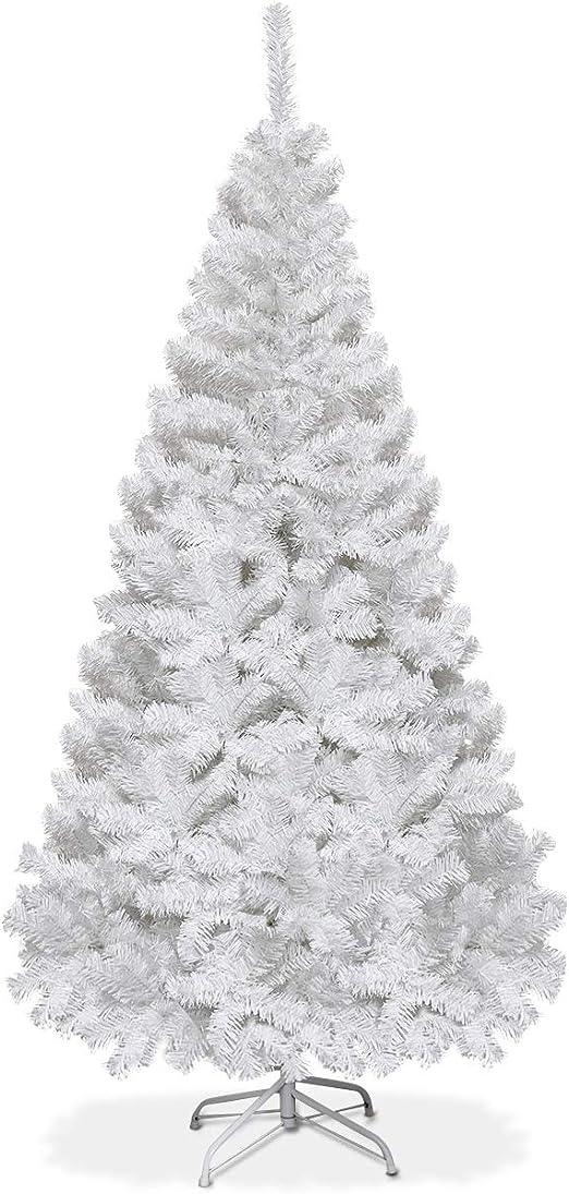 White 4 Feet Tall Christmas Tree W// Stand Holiday Season Indoor