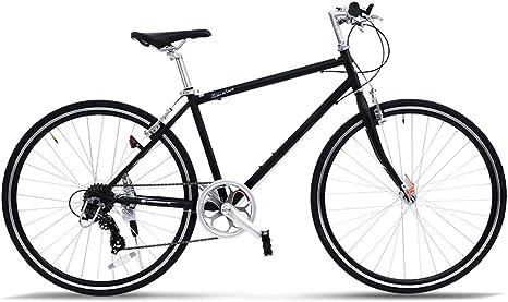 Bicicleta de Carretera, Bicicleta de Carretera, 700C de Fibra de Carbono con Sistema de Cambio Shimano 105 R7000 22-Velocidad, Freno en V: Amazon.es: Deportes y aire libre