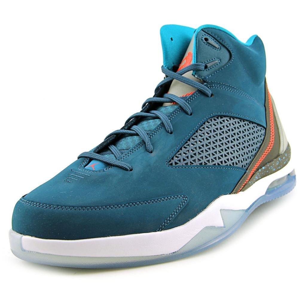NIKE Air Jordan Remix Flight Remix Jordan Sneaker Chaussures Basket Bleu/Noir/Blanc 42 EU|vert 339ba6