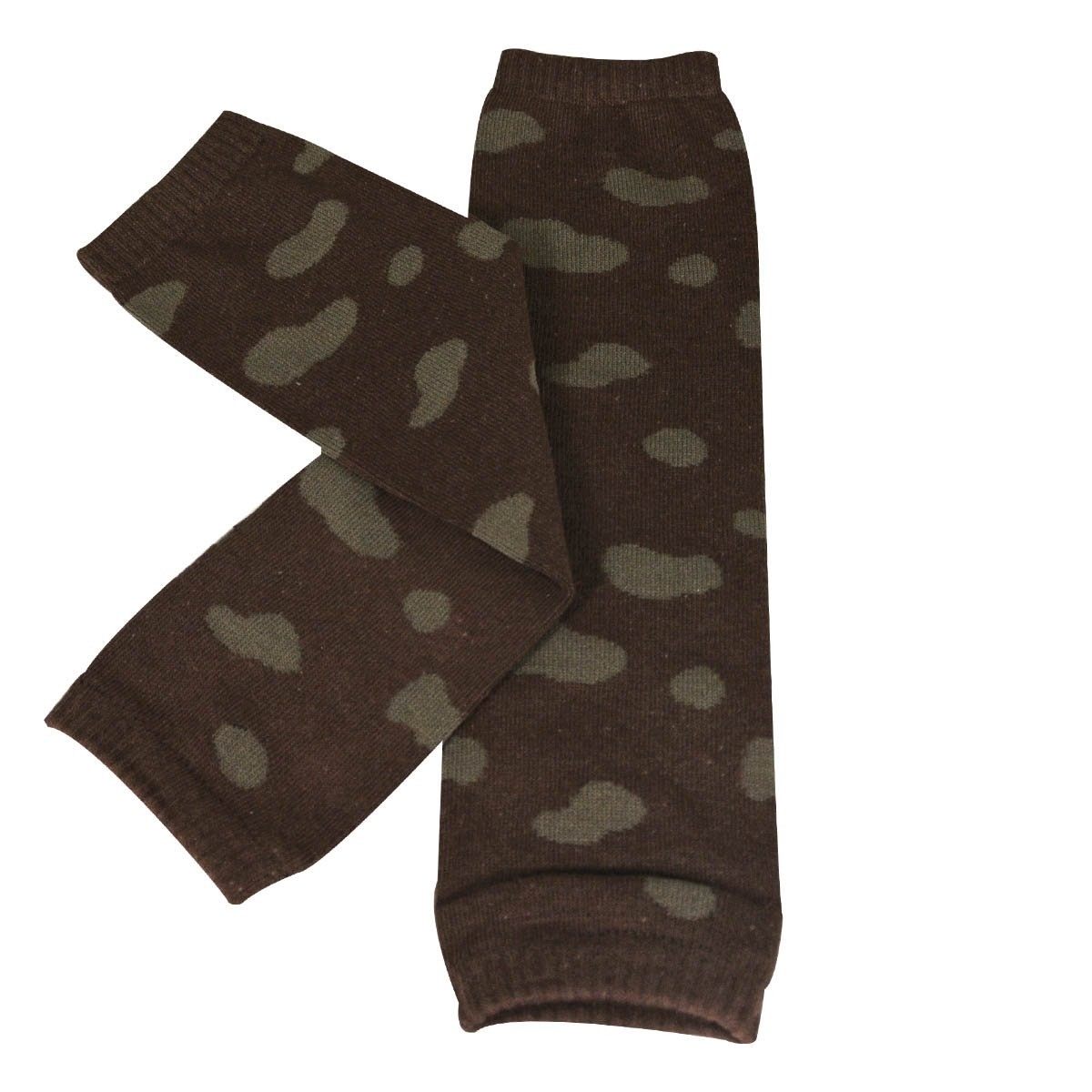 Animal Print /& Ruched Wrapables Colorful Baby Leg Warmers Set of 2