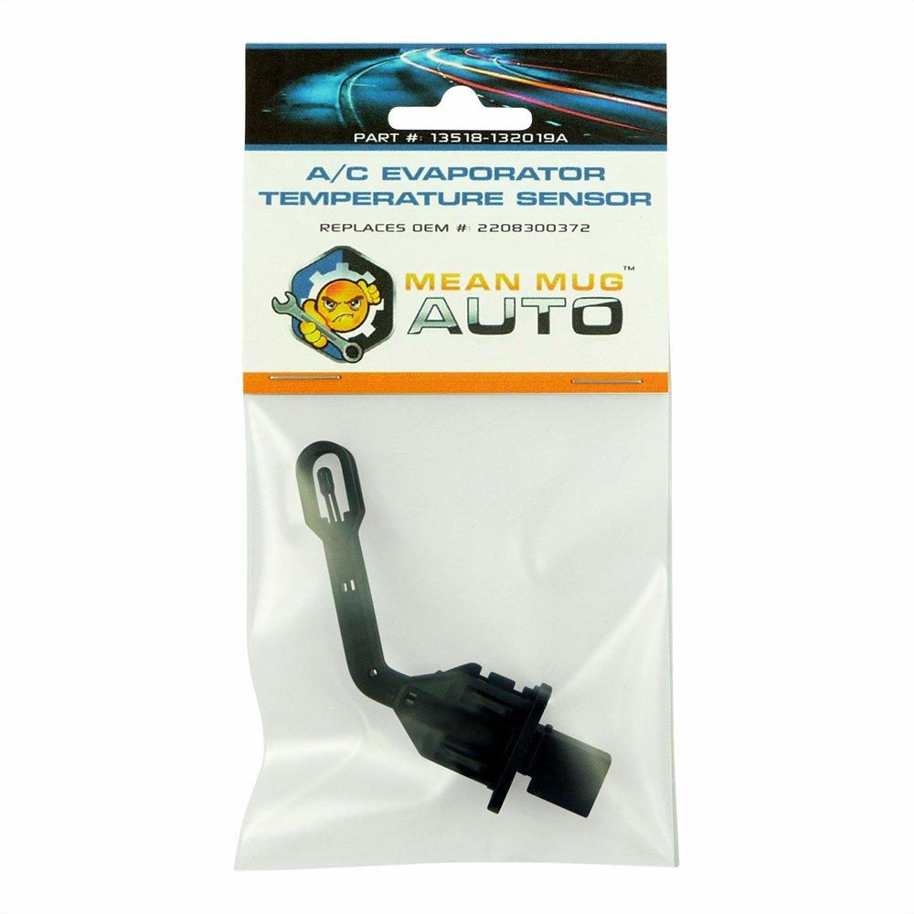 Mean Mug Auto 13518-132019A A/C Evaporator Temperature Sensor - For: Mercedes-Benz - Replaces OEM #: 2208300372, 2208300772, 351080401