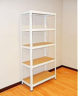 Cofan 09401100 Estantería, Blanco: Amazon.es: Bricolaje y herramientas