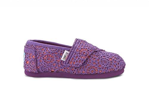 Toms Classics Nina Morado Mocasines Zapatos Talla Nuevo EU 27: Amazon.es: Zapatos y complementos