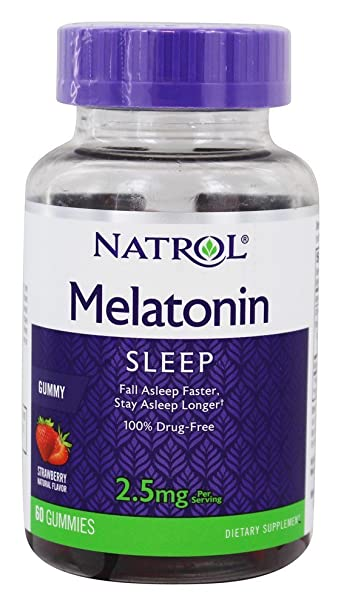 Natrol Melatonin Gummy, 60 Count