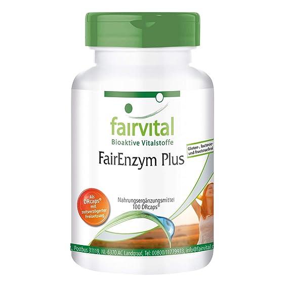 Enzimas Plus - digestivas - Altamente dosificado - 100 Cápsulas ...