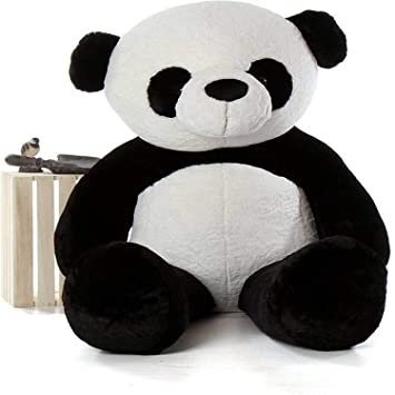 GURUDEV 4 feet Long Soft Lovable hugable Cute Xtra Large Teddy Bear Panda (Best for Someone Really Special) 121 cm