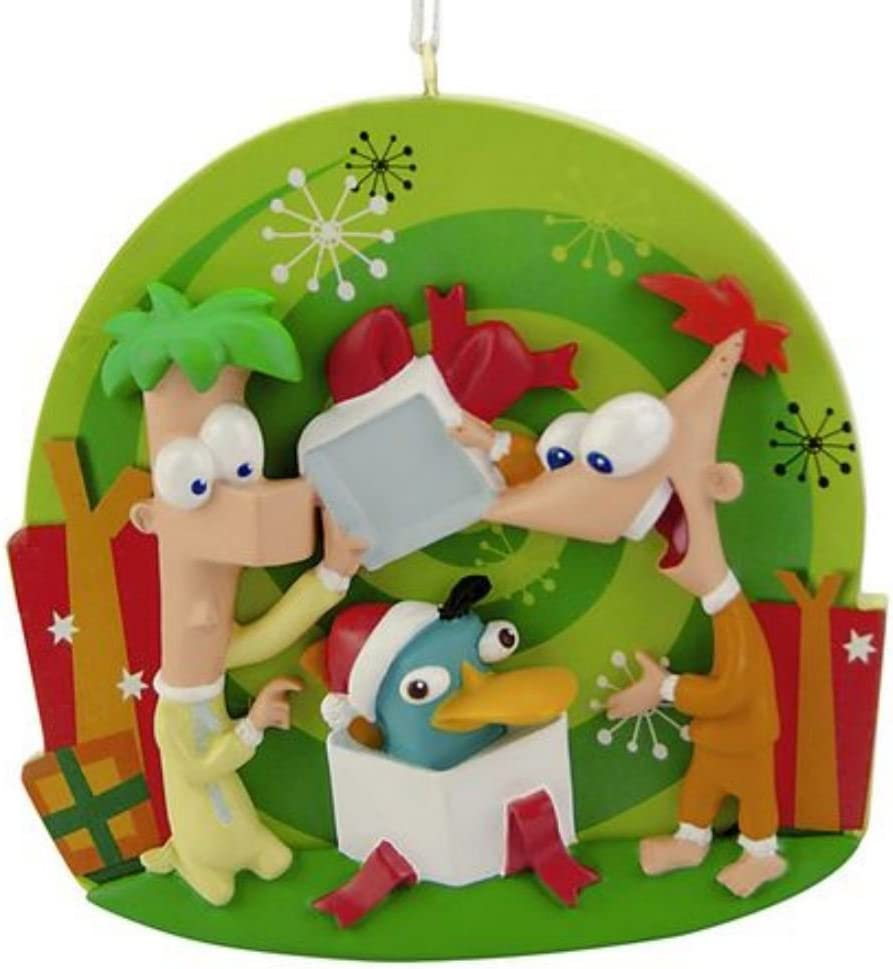 Phineas And Ferb 2020 Christmas Ornament Amazon.com: Disney Phineas & Ferb Christmas Ornament: Home & Kitchen