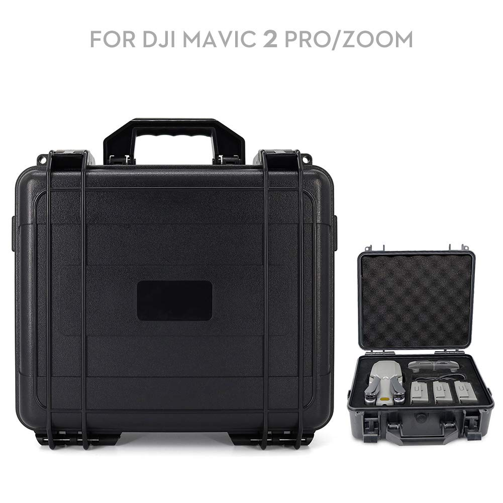 Beyondsky Mavic 2 Carrying Waterproof Hardshell Suitcase Anti-Shock Storage Case for DJI Mavic 2 Pro/ Zoom