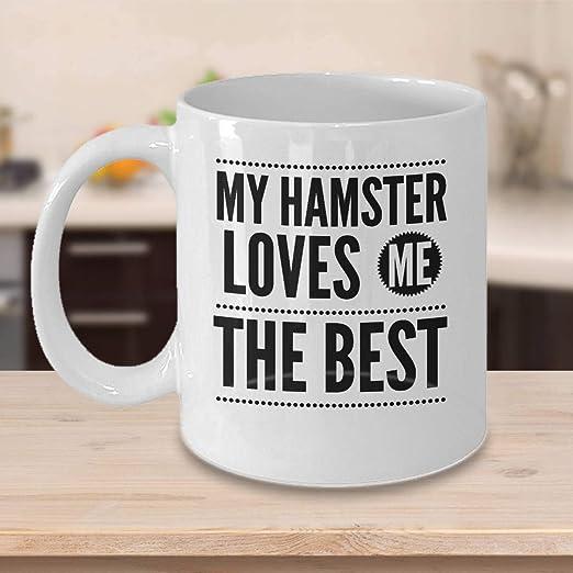 An Ideal Gift Hamster Ceramic Coffee Mug