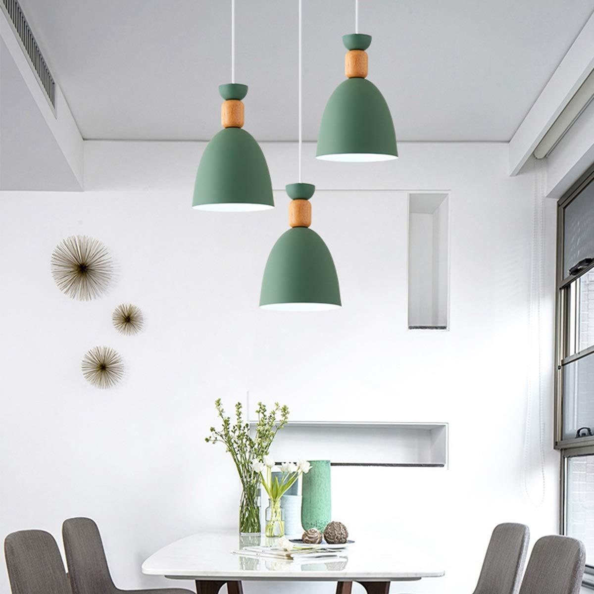 Einfaches Esszimmer-Ausgangs-Speisetisch-Schlafzimmer-Nachttisch-kreativer Leuchter Durable (Größe     Grün) B07PZ1PK53 | Viele Sorten  01d024