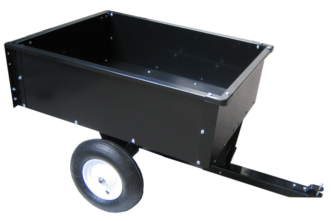 Yard Tuff Tow Cart, 10 Cubic Feet
