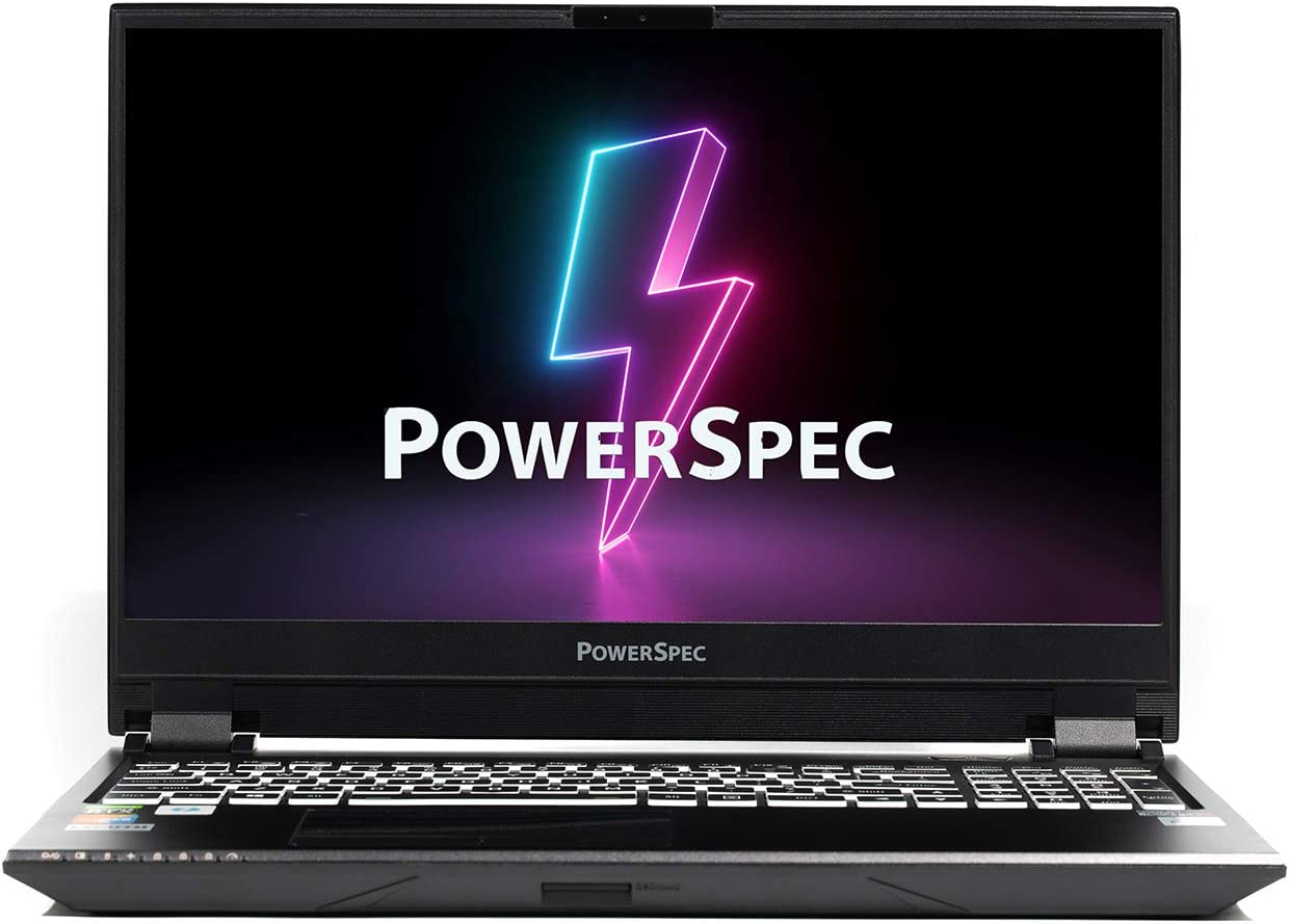 "PowerSpec 1530 Gaming Laptop Notebook PC, Intel i7-10875 CPU, NVIDIA GeForce RTX 2070 Super 8G , 15.6"" FHD 240Hz, 32GB DDR4, 1TB NVMe SSD, RGB Backlit Keyboard, WiFi 6, Thunderbolt 3, Window 10 Pro"