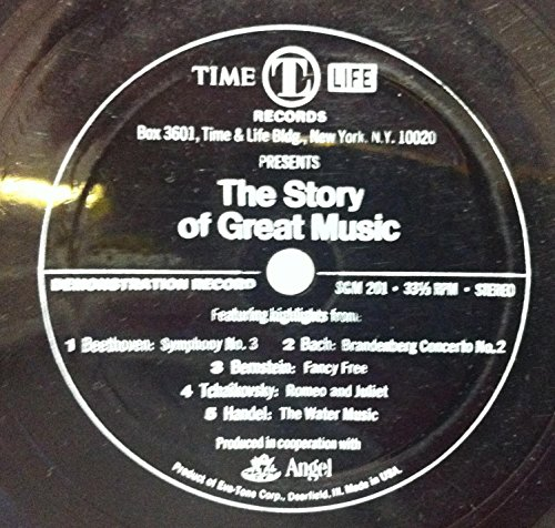 Time Life Angel Presents The Story Of Great Music 45 rpm single