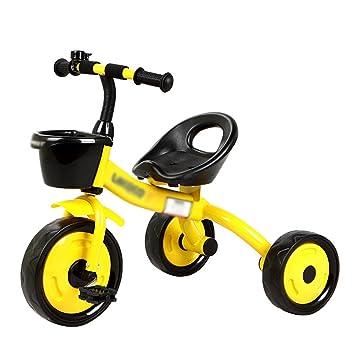 Triciclos niños Bicicleta Bebé Niño Carruaje de bebé 2-5 años 3 Ruedas Niños (