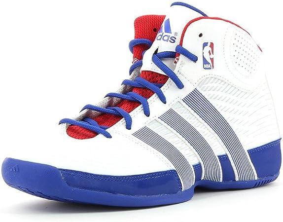 adidas Rise Up NBA Junior BiancaBluRossa Scarpe Basket