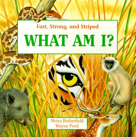What Am I?: Fast, Strong, and Striped