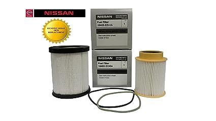 Diesel Fuel Filter >> Genuine Oem Nissan Titan Xd 5 0l Diesel Fuel Filter Kit