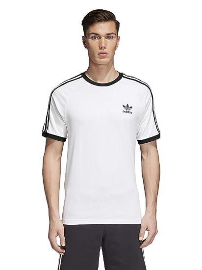 Adidas Originals Playera de 3 Rayas para Hombre