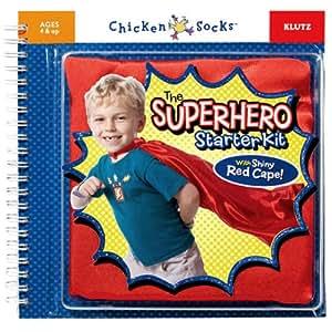 The Superhero Starter Kit (Chicken Socks)