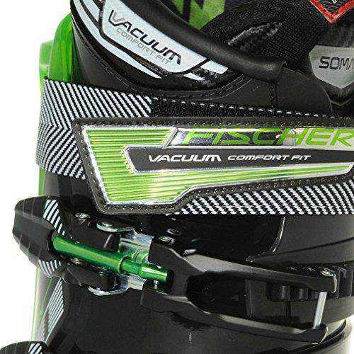 FISCHER SPORTS Herren Viron 10 Vacuum Skischuhe, Schwarz, 42