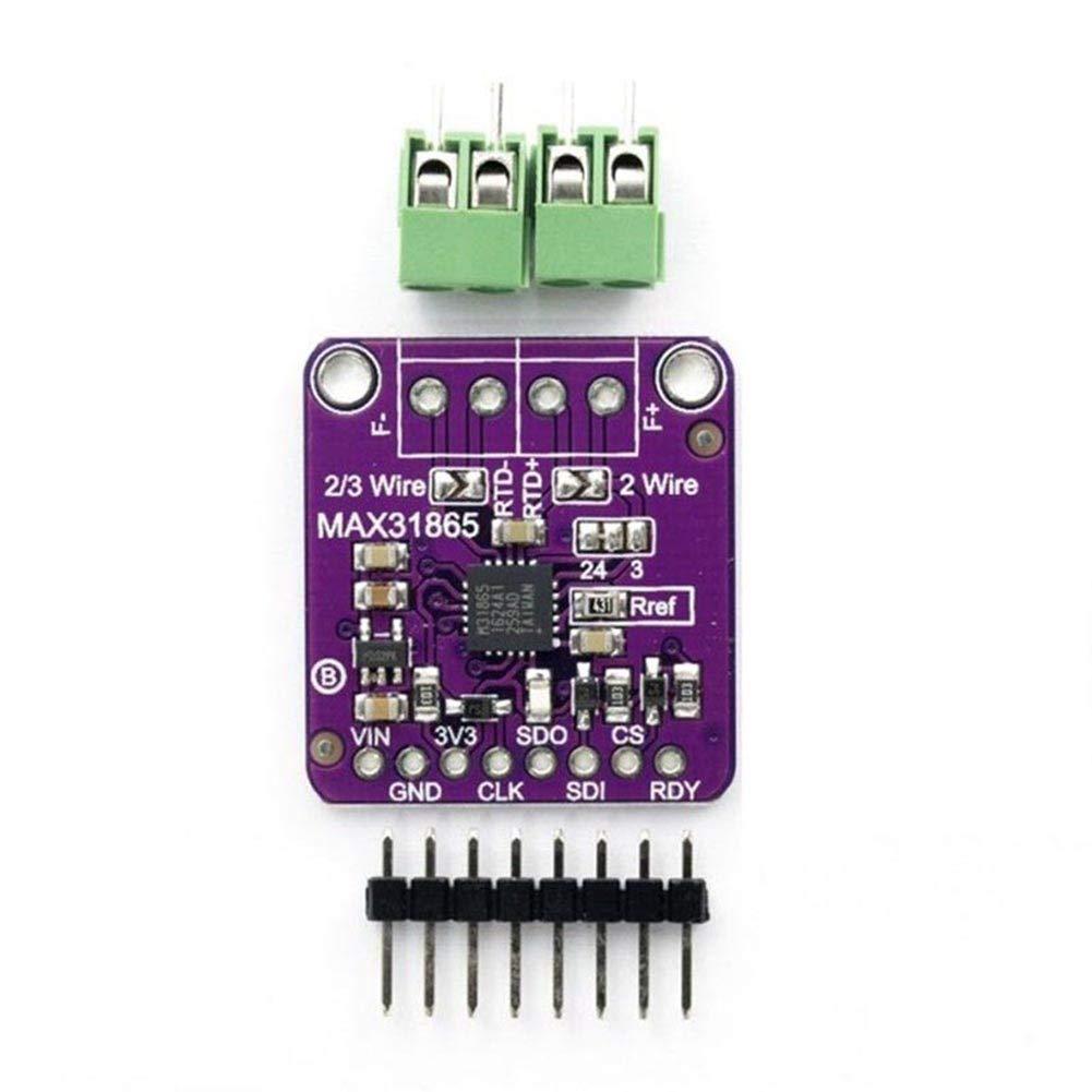 coflower PT100 MAX31865 RTD Modulo per termocoppia sensore di Temperatura Amplificatore per Arduino 1gj6cm6dd9jg7bp0