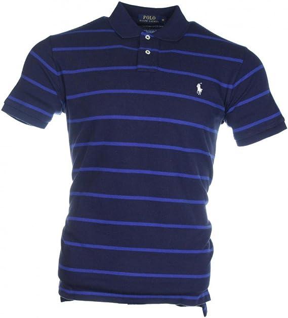 Polo Ralph Lauren para hombre, azul marino y rayas azules Azul ...
