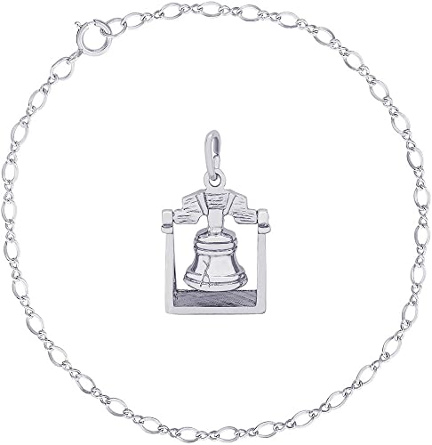 Liberty Bell Charm Charms for Bracelets and Necklaces