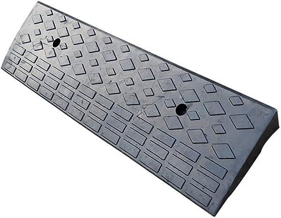 Almohadilla Triangular de 8 cm, rampas de bordillo de Goma portátiles Negras Patio jardín Almohadilla de Paso Rampas de Bicicleta de Motocicleta Tamaño: 90 * 25 * 8 cm: Amazon.es: Hogar