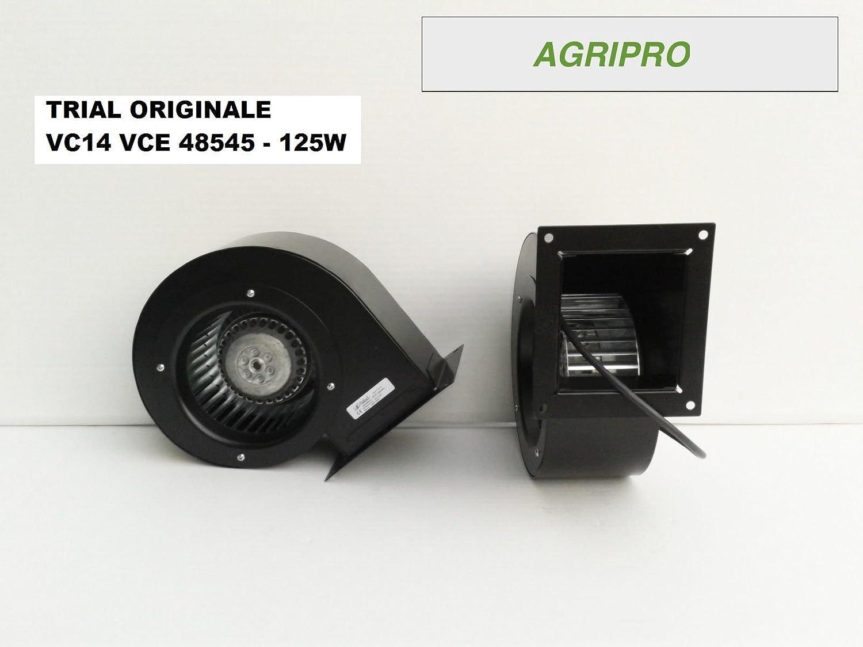 AGRIPRO TRIAL VC14 - Ventilador centrífugo 125 W, para motores de ...