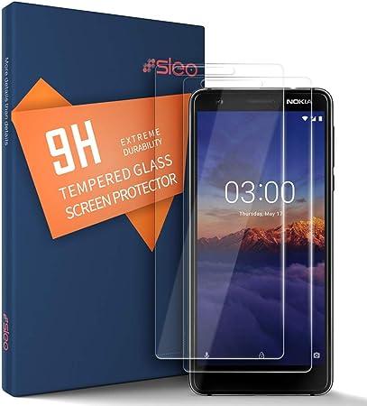 SLEO Protector de Pantalla para Nokia 3.1 / Nokia 3 2018 Cristal Templado [9H Dureza] [Alta Definicion] Resistente a Arañazos Alta Sensible Protector Pantalla para Nokia 3.1 / Nokia 3 2018-2 Pack: Amazon.es: Hogar
