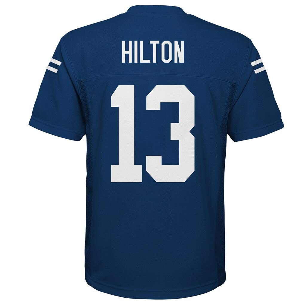 Outerstuff T.Y Hilton Indianapolis Colts Kids 4-7 Blue Home Mid Tier Jersey