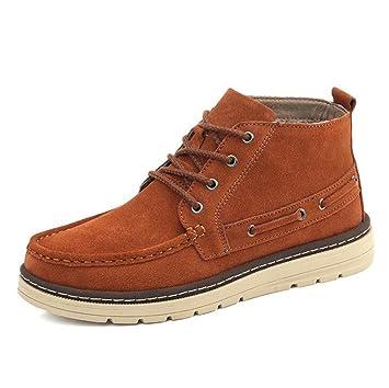 Loisirs Derby Chaussures Hommes Chaussures Orange 3eOJr4
