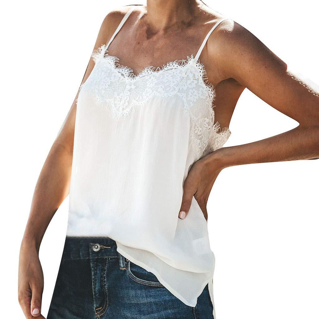 DAYPLAY Women Vest Sling V Neck Spaghetti Eyelash Lace Tank Tops Sexy Sleeveless Blouse Camis Top Shirt Sale Summer Sling White