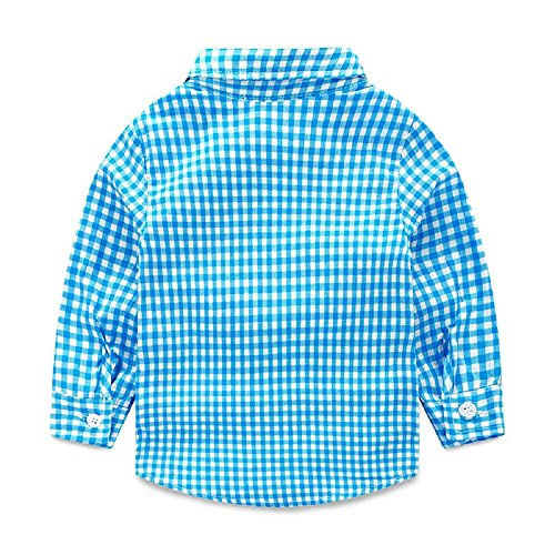 3c044e37e Yilaku Toddler Boys Outfits Suit Infant Clothing Newborn Baby Boy Clothes  Sets Gentleman Plaid Top+