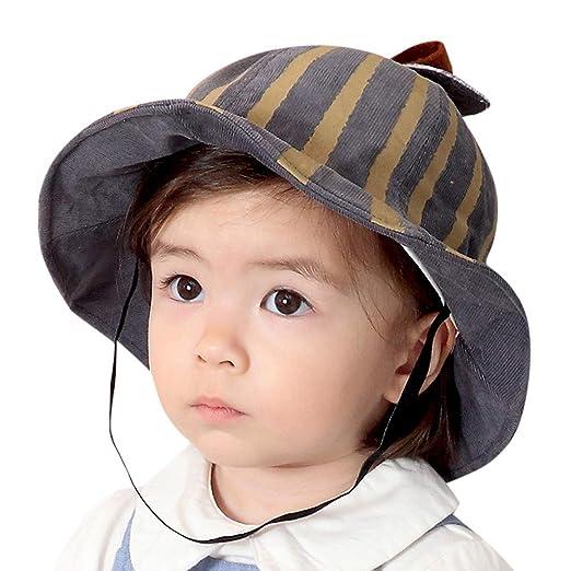 53129b9a21b Amazon.com  Baby Girl Boy Sun Hat Visor
