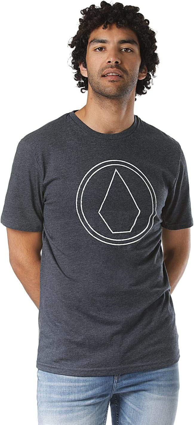 Volcom Mens Pinstone HTH Ss Short Sleeve T-Shirt