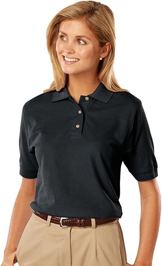 XS, Pink Blue Generation BG2201 Short Sleeve Cotton Polos-Polo Shirts